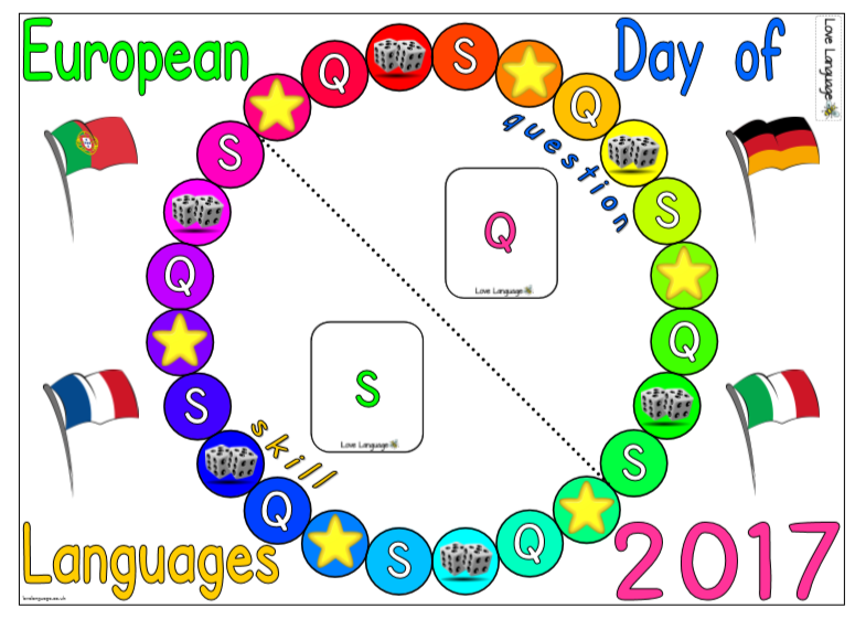 European Day of Languages 2017 Board Game