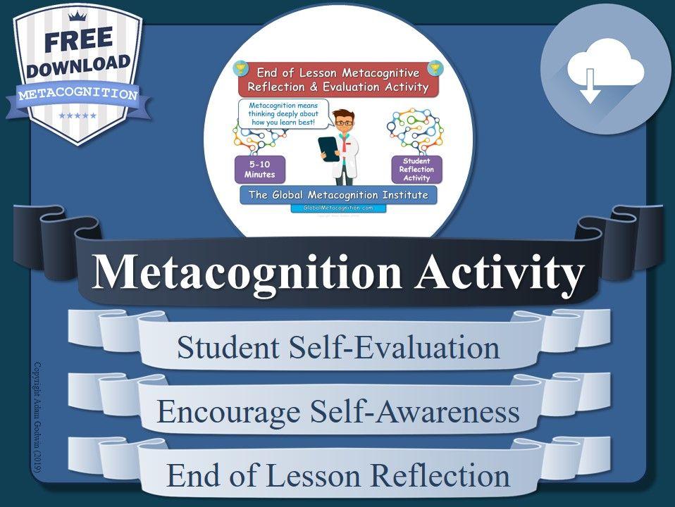 Metacognition Activity