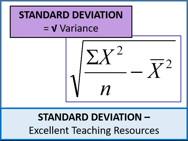Standard deviation by phildb teaching resources tes statistics s1 standard deviation and variance lots of resources ccuart Images