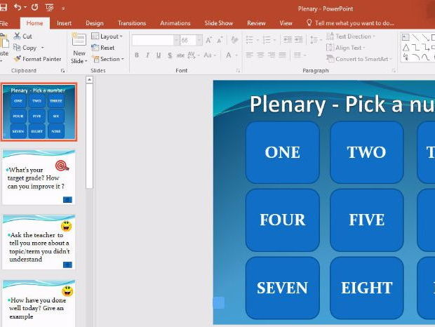 Never Have To Make A Plenary Again With This Easy And Engaging Plenary.ppt