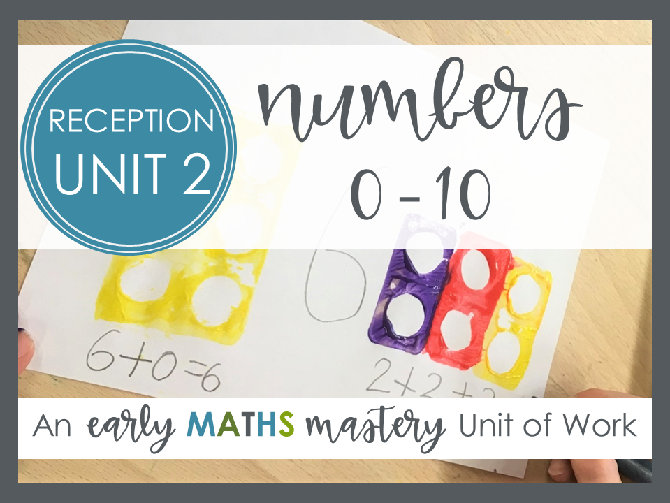 Numbers 0-10 - Reception Maths Mastery Planning (Autumn term, weeks 2 - 8)