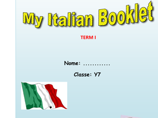 KS3 ITALIAN RESOURCES ii