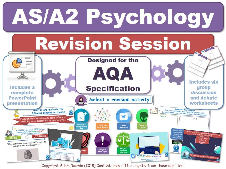 4.3.3 - Gender - Revision Session (AQA Psychology - AS/A2 - KS5)