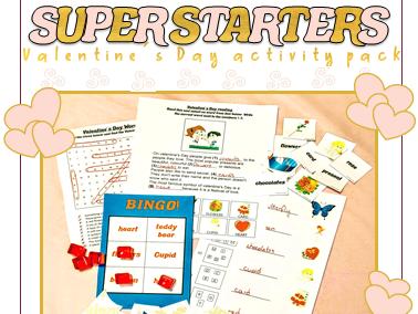 valentine's day classroom activities for ESL