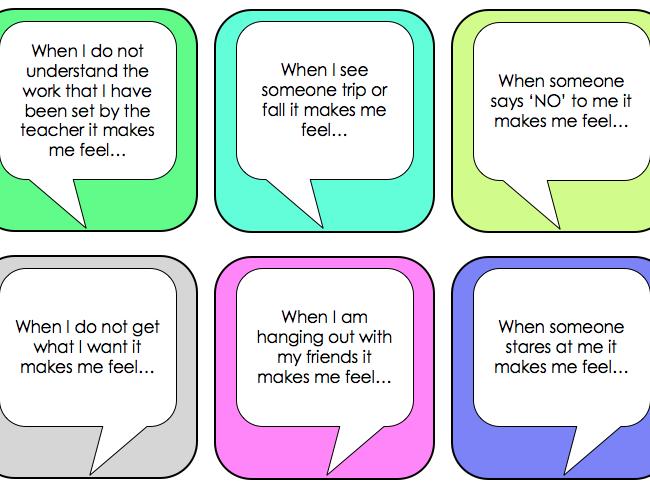 SEN / SEMH Emotional Literacy - Understanding Emotions Intervention