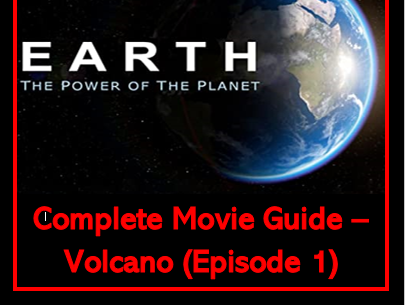 Earth - The Power of the Planet: VOLCANO (Complete Video Worksheet)