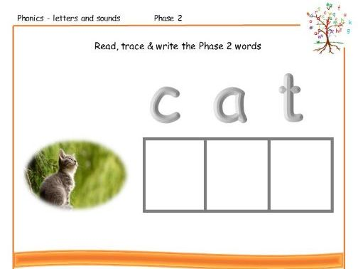 FREE Resource EYFS Read Trace Write
