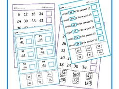 Cut & Paste Math BUNDLE, Autism, Special Education, SEND