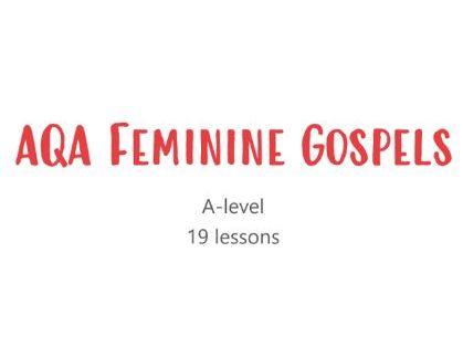 AQA Feminine Gospels