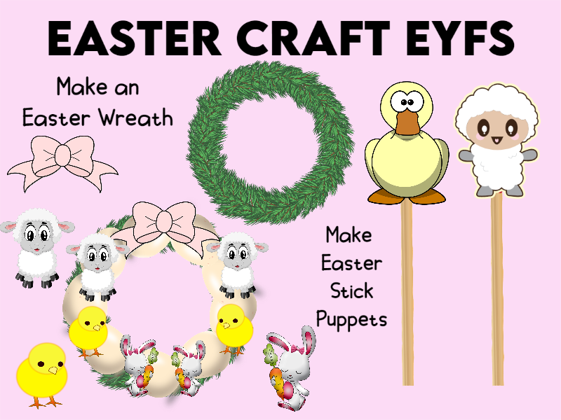 Easter Craft Decorations EYFS