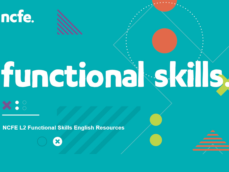 NCFE L2 Functional Skills English Resources