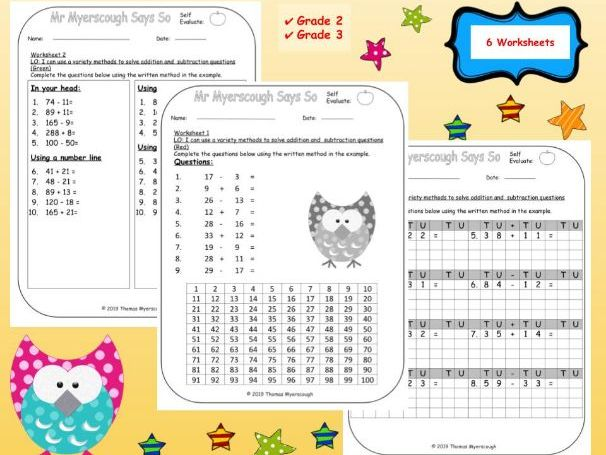 Addition & Subtraction: Mixed Questions