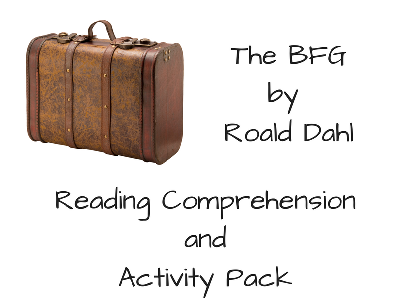 The BFG - Reading Comprehension and Activity Pack