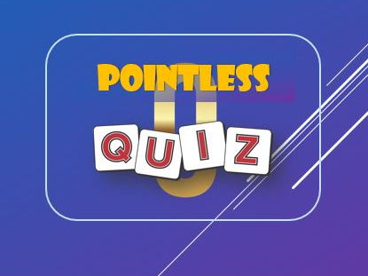 End of Year: Summer Quiz: Pointless