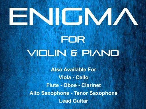 Enigma - Violin & Piano (score & Parts)