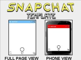 Snapchat Template