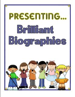 Biography Presentation Ideas for Students with a Rubric