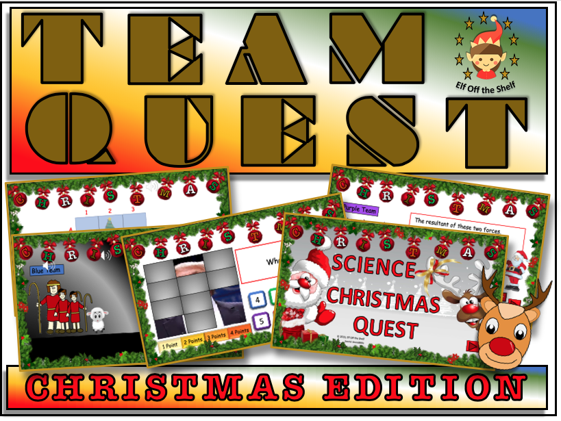 Christmas Team Quest - Science Quiz KS3
