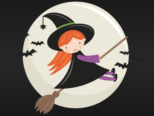 Cute Halloween song: 'I WISH I WAS A WITCH'