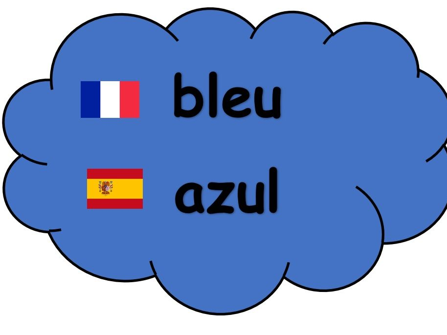 Colour Display Cards (French and Spanish)
