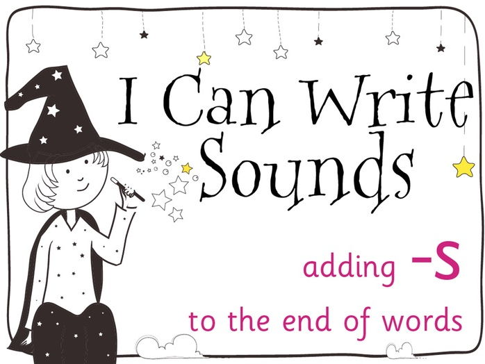 Magic Sounds Phonics Set 29 adding -S to the end of words