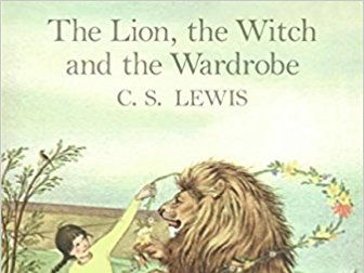 The Lion, The Witch & The Wardrobe Planning (Week 1 of 5)