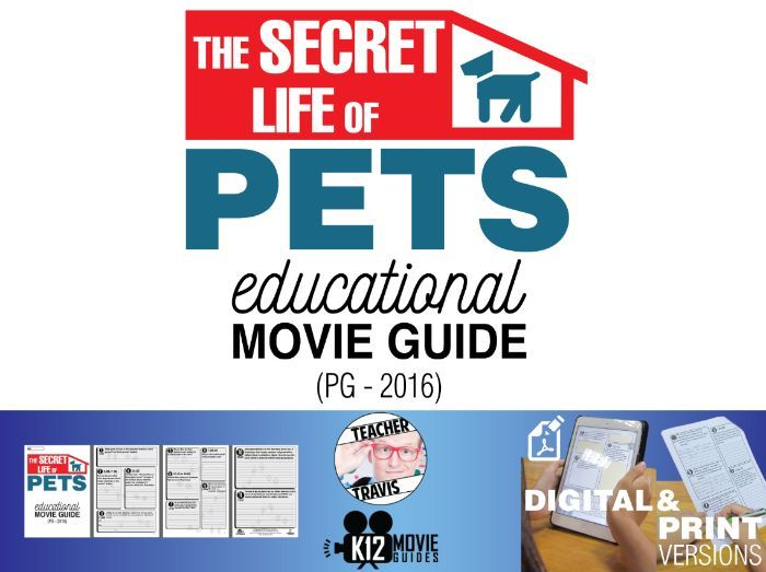 The Secret Life of Pets Movie Viewing Guide
