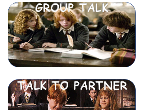 Harry Potter Noise Chart
