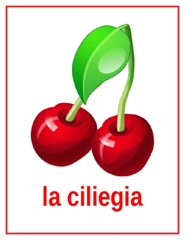 Frutta (Fruit in Italian) Posters