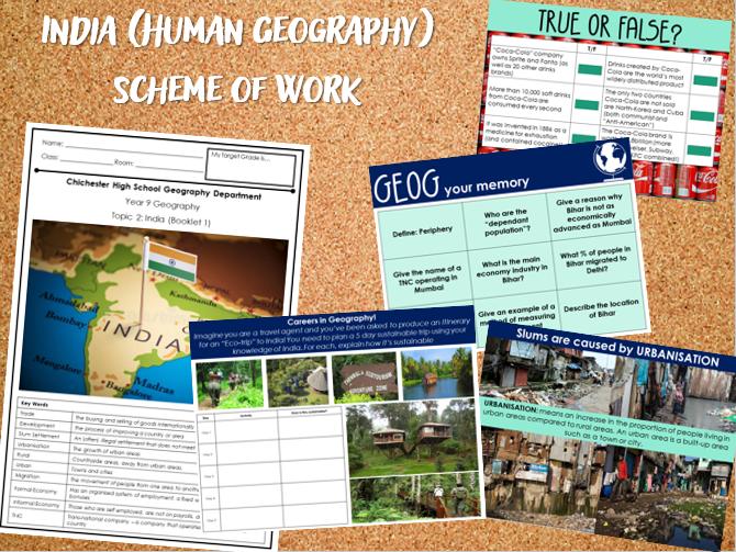 KS3 India Scheme of Work