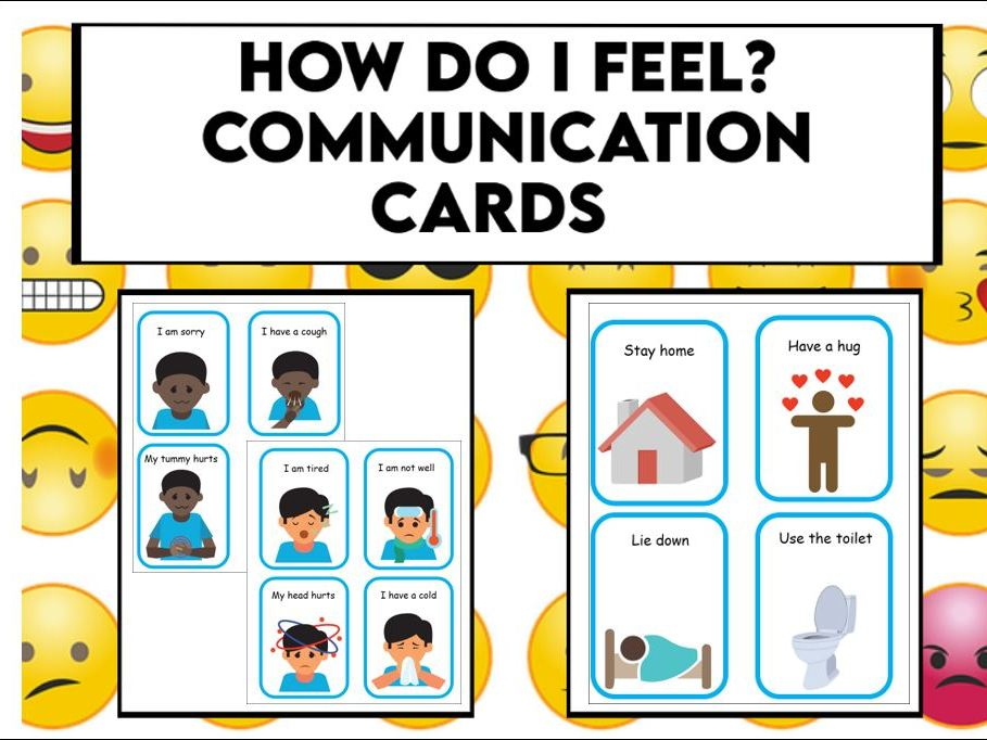 How do I Feel? Communication Cards