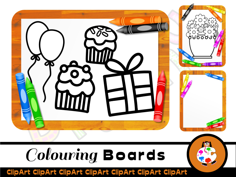 Kids Colouring Sheets