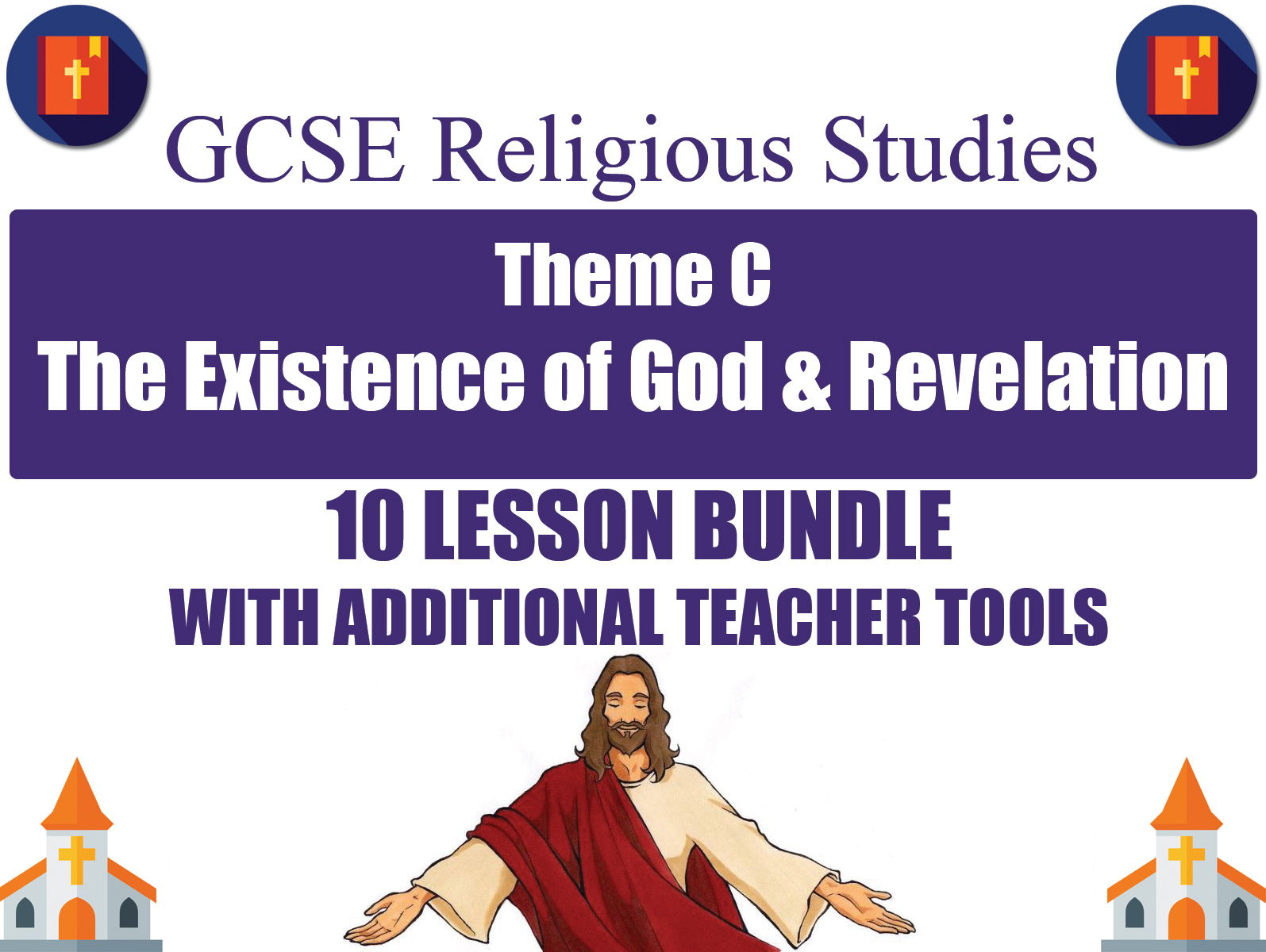 The Existence of God & Revelation (10 Lesson Unit) (AQA GCSE Religious Studies)