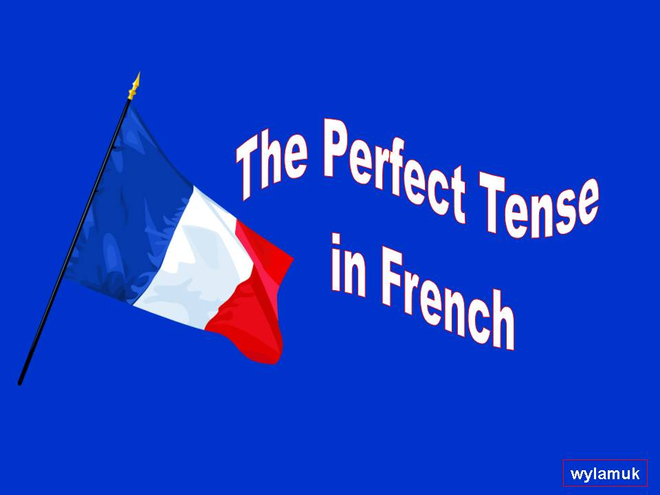 The Perfect Tense in French - a step by step guide