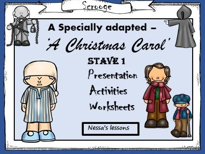 A Christmas Carol - Adapted - Stave 1