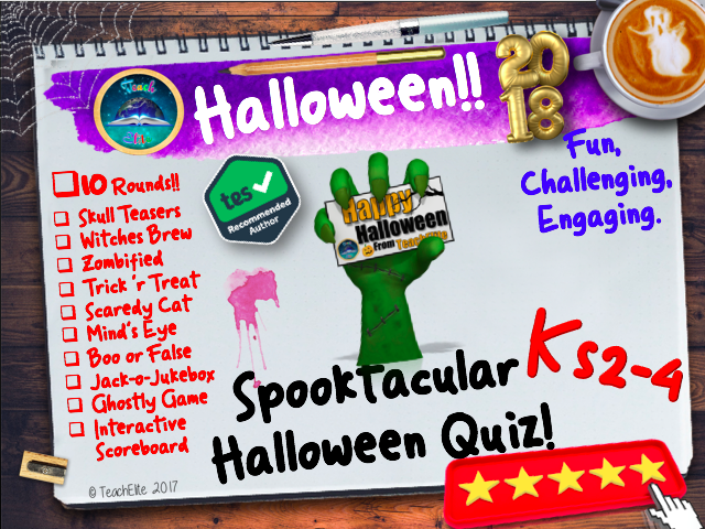 Halloween, Halloween, Halloween  Quiz
