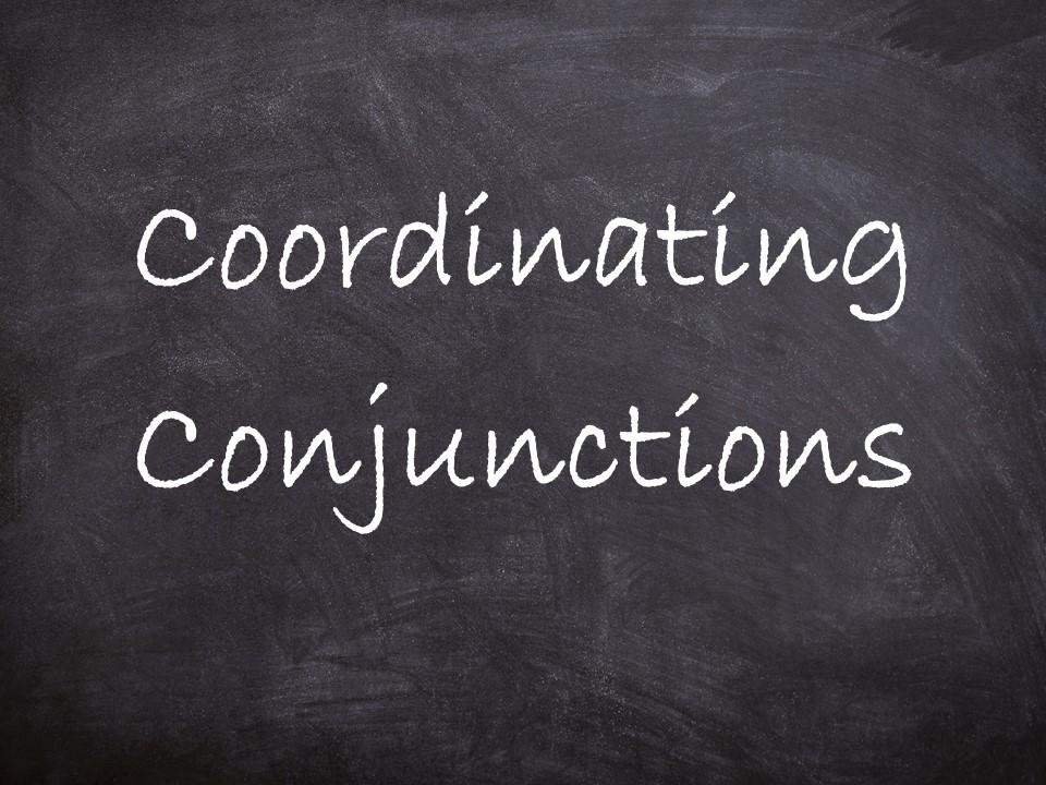 Compound sentences  / joining commas