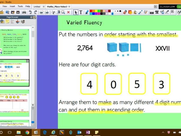 White Rose Maths Planning - Place Value Flipchart