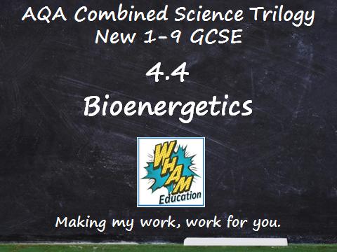 AQA Combined Science Trilogy: 4.4 Bioenergetics