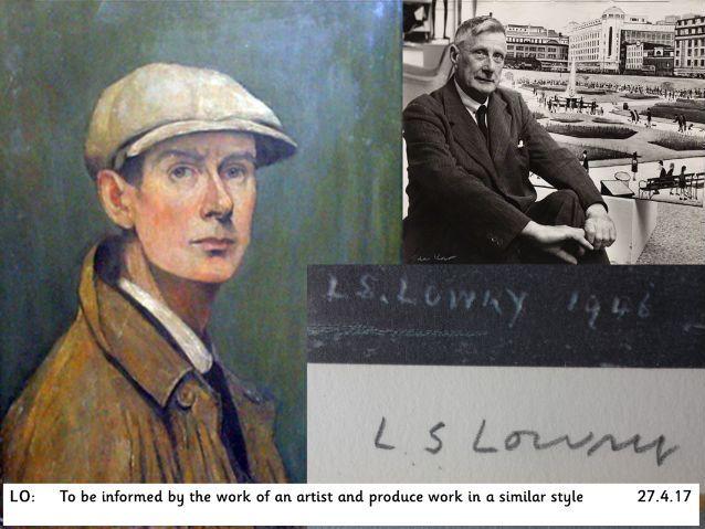 L.S Lowry Artist Study Lesson Pack- KS1
