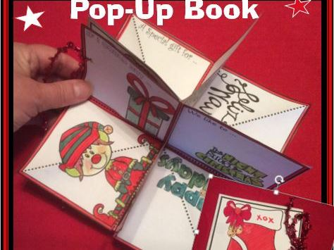 Christmas Crafts - POP-UP Book