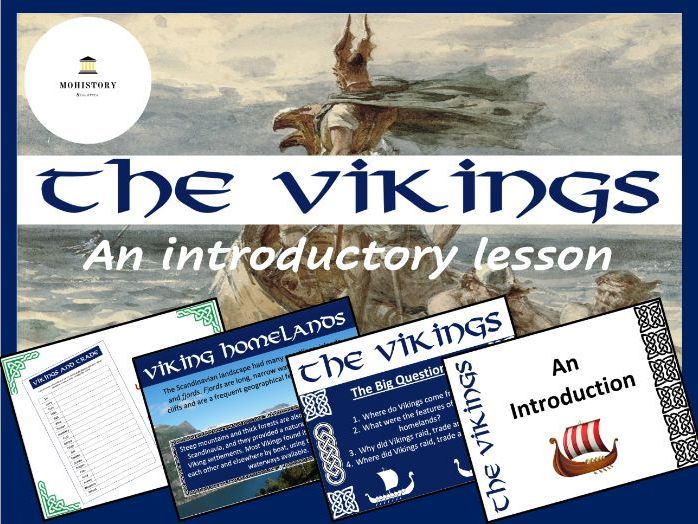 Vikings! - An Introductory Lesson