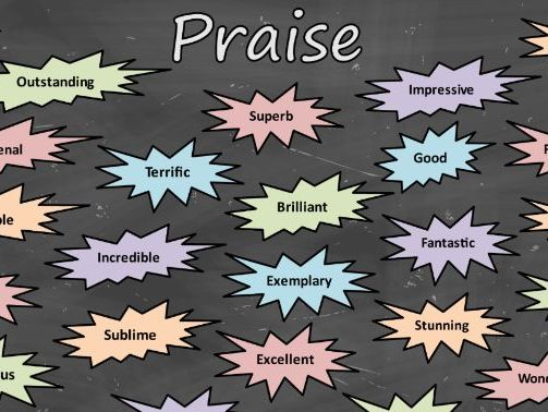 Praise Poster – Positive Words to Boost Confidence and Encourage