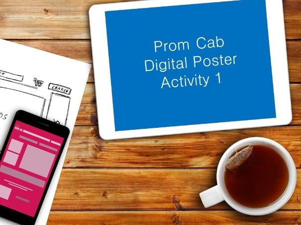 Prom CAB - Digital Poster - Video Guides - GCSE Edexcel ICT