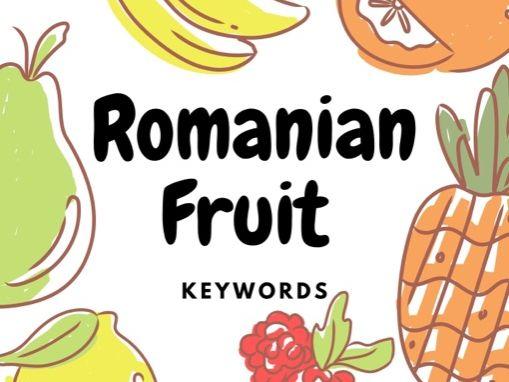 Romanian Keywords - Vegetables