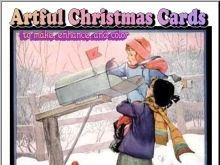Artful Christmas Cards to Make, Enhance and Color
