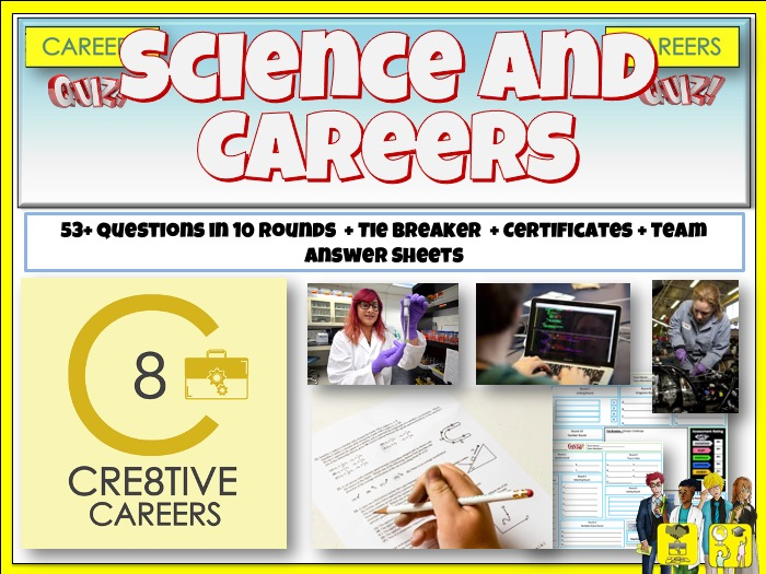 Science and Careers Quiz