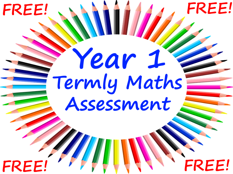 FREE Year 1 Termly Maths Assessments Using The Wigan Maths Assessment Papers