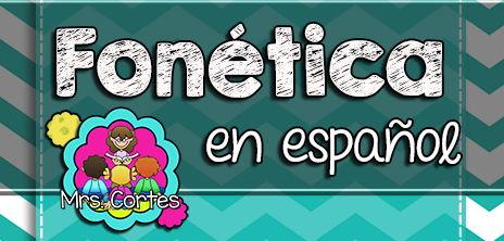 Spanish Phonics MEGA Bundle # 2: Sets 13-24
