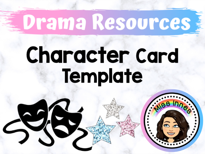 Character Card Template